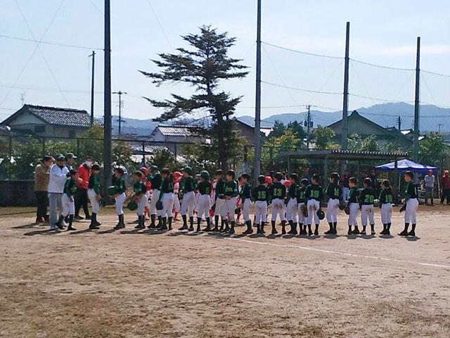 佐世野球スポーツ少年団(雲南市・島根県)練習試合終了!