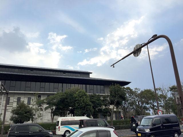松江市総合体育館・建て替え後の新しい建物