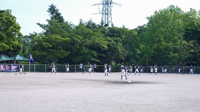 生馬学童野球クラブ、バント&バッティング練習