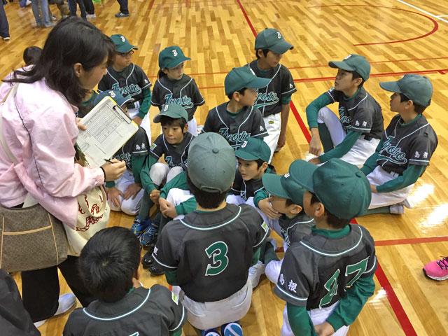 スポーツ少年団親子運動会の参加種目の振り分け