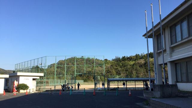 八雲山村広場野球場(八雲球場)島根県松江市