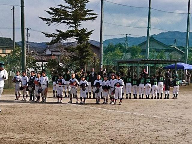 全揖屋ジュニアスポーツ少年団との練習試合終了
