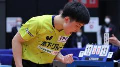 張本智和、薄氷の勝利に「去年の準決勝、決勝よりも苦しい試合」<卓球全日本男子単6回戦>