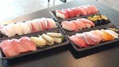スシローの持ち帰り寿司がスゴい!! 種類も豊富で大切りネタに大満足っ!!