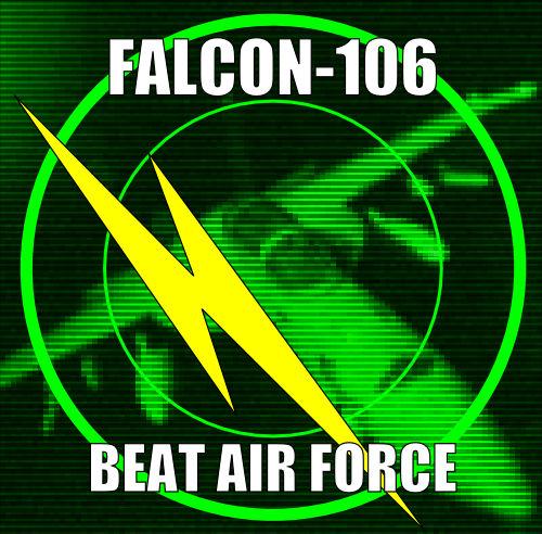 KOMABA INDUSTRIAL リリース第四弾、FALCON-106(ファルコン・ワンオーシックス)名義でのファースト・アルバム、「BEAT AIR FORCE」発売中です