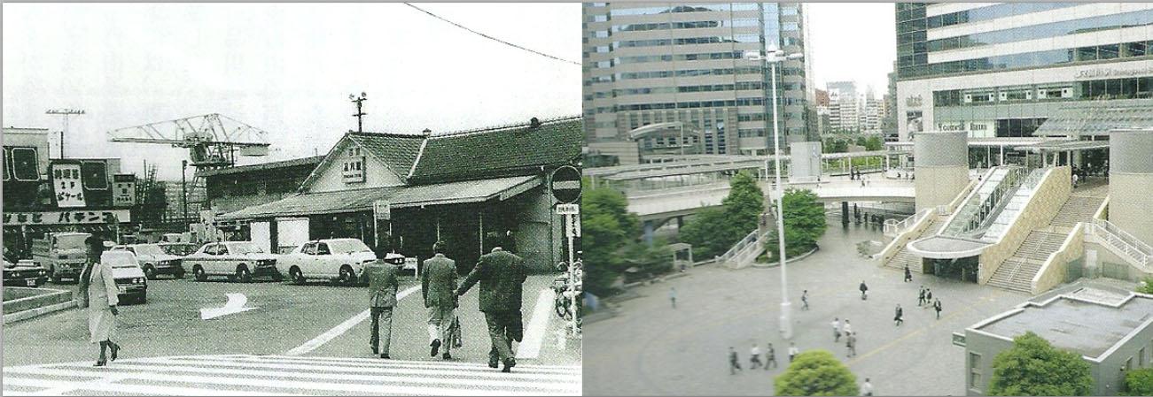 大東京 ビフォー&ナウ : 懐かしい昭和の写真で比較する山手線 ...