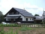 現代和風「朝日を浴びる家」外装仕上完了2