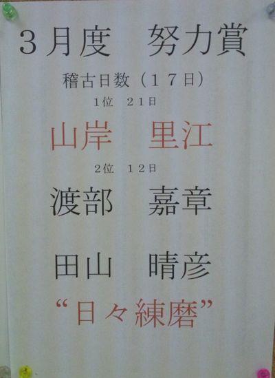 勝田台 2012年3月 一般部