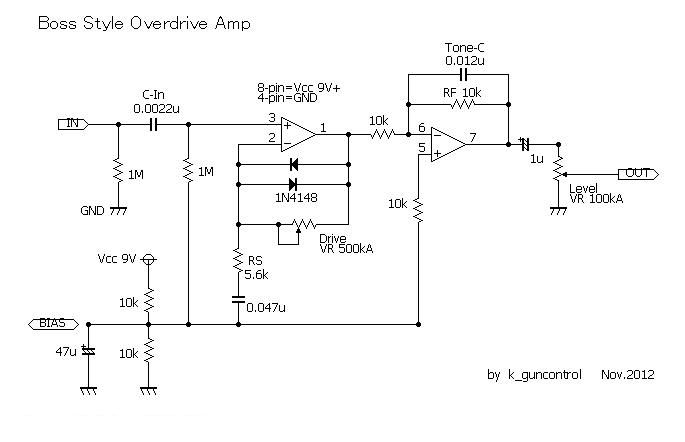 ts808 schematic html with Cat 10009300 on Ibanez Ts808 besides Cat 10009300 moreover Ts808hw moreover Srv Special Tube Screamer as well Values C1 22nf C2 1uf C3 47nf C4 51pf.