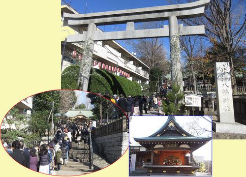 北澤八幡神社適