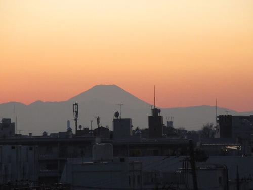 IMG_54693日夕の富士