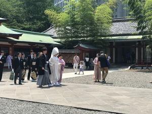 日枝神社花嫁2