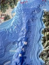 海水を抜いた駿河湾