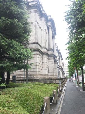 日本銀行北東側
