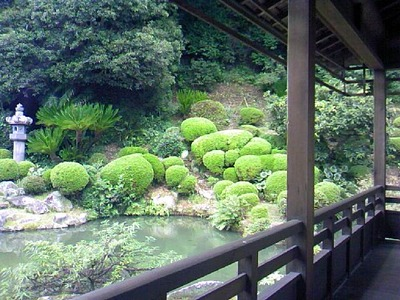清見寺の名勝庭園
