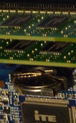 この電池は⇒PCのBIOSの設定を保存するためにある