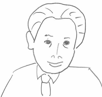 藤さんイラスト