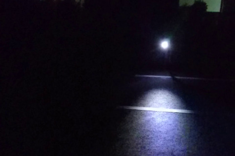 LEDライト明るさ