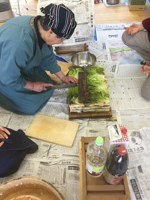 岩国寿司講習会16