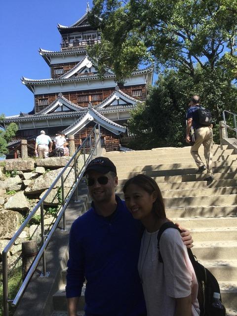 翌日は広島城へ