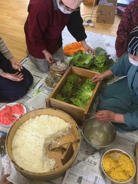 岩国寿司講習会10