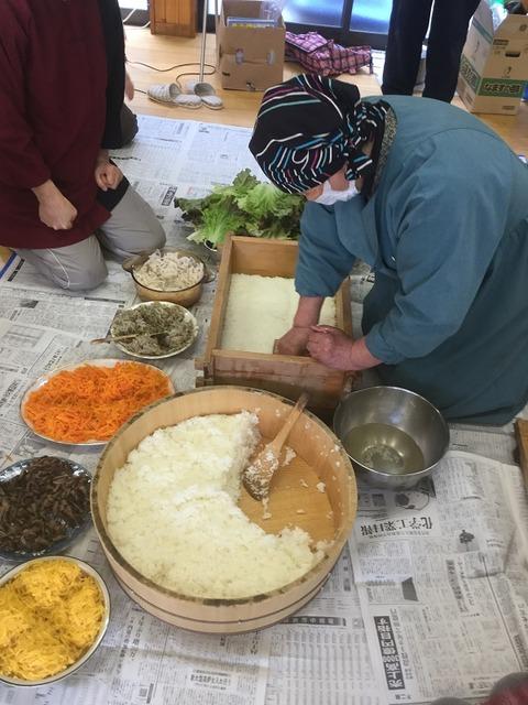 岩国寿司講習会7