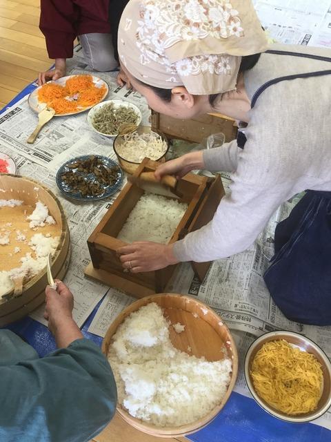 岩国寿司講習会12