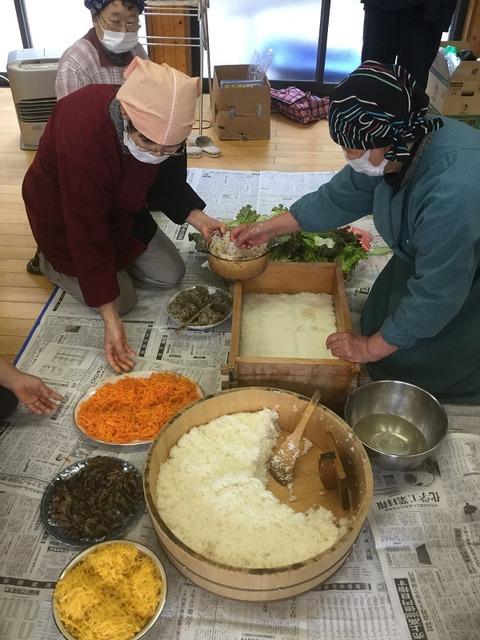 岩国寿司講習会8