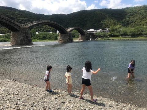 62日間の滞在 錦帯橋