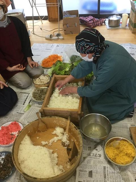 岩国寿司講習会11