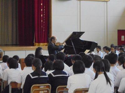 麻里布中学校