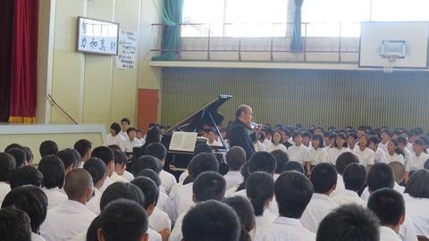 2017川下中学校学校訪問