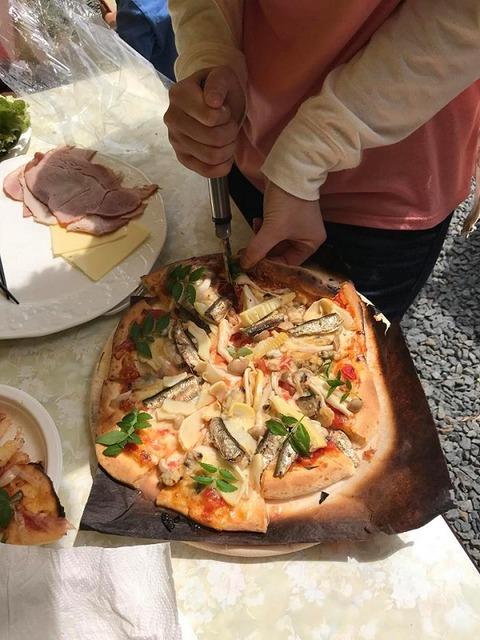 大人のピザ