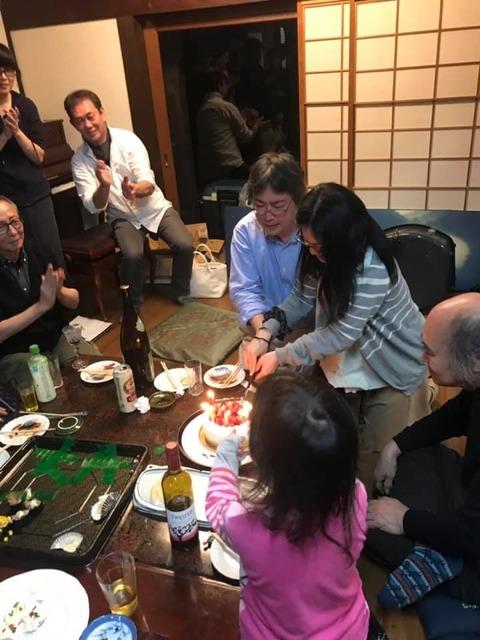 ミュージックキャンプ2019ケーキ入刀