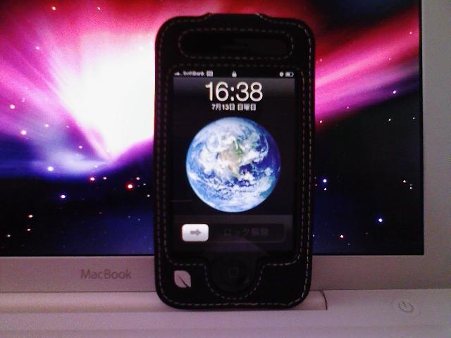iPhoneの勇姿