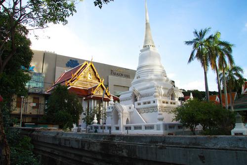 虐殺のあったと言われる王室ゆかりの寺