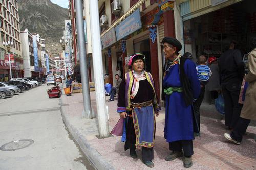 小金具のチベット人
