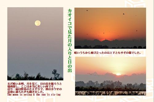 12カオイコの月と太陽