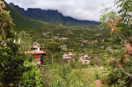 丹巴美人谷のチベット集落