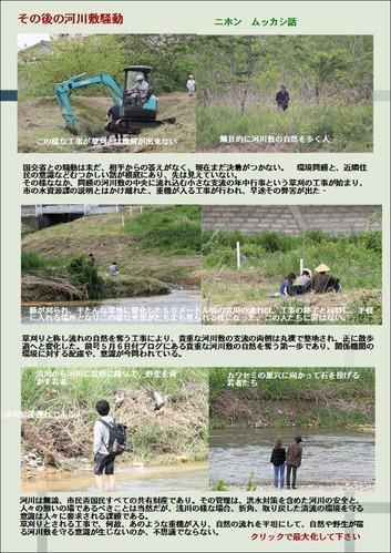 清川の自然破壊