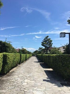 御城番屋敷の道