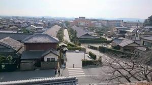 松阪城からの御城番屋敷