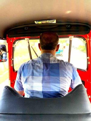 トゥクトゥク運転手