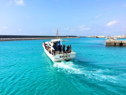2015年10月11日伊江島ダイビングサービス出航