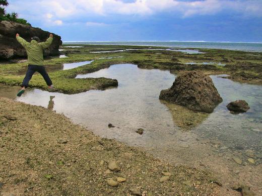 伊江島東海岸