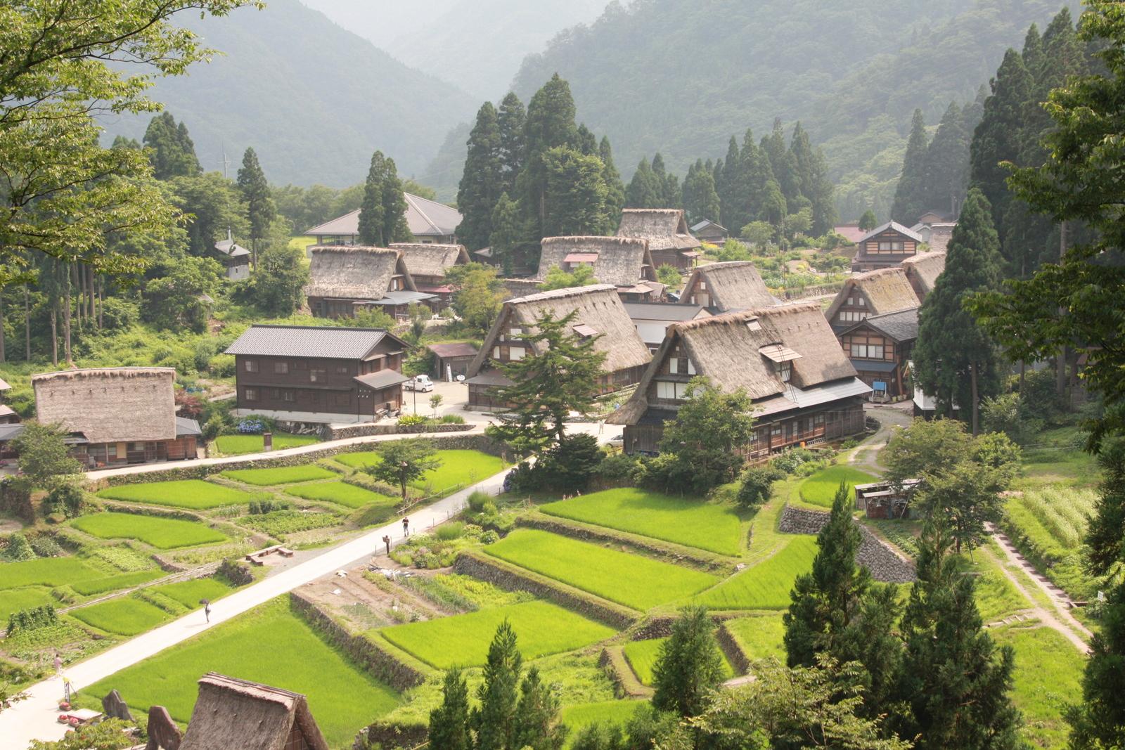 白川郷・五箇山の合掌造り集落の画像 p1_32