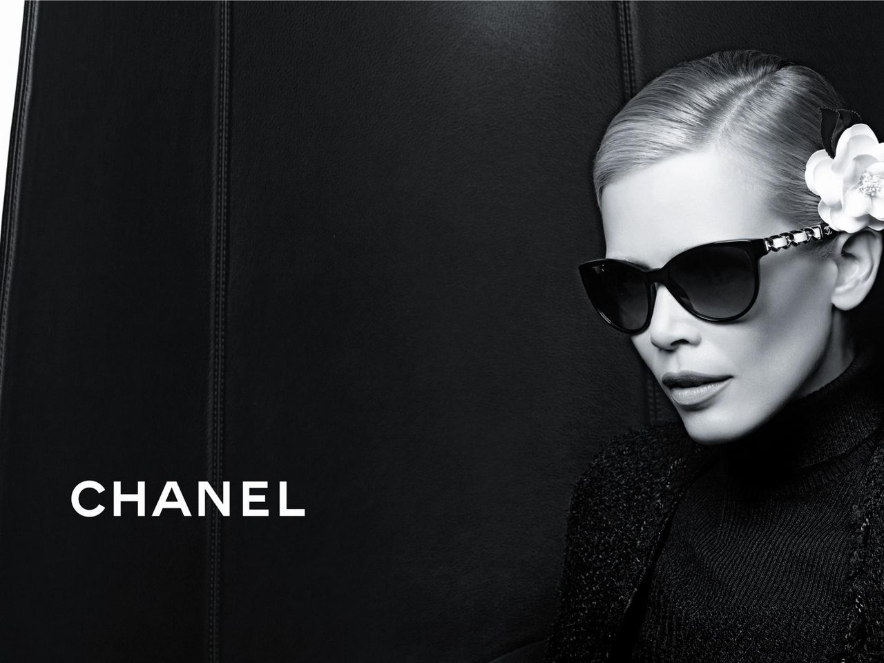 Chanelモノクロ Pc壁紙 壁紙フォルダー