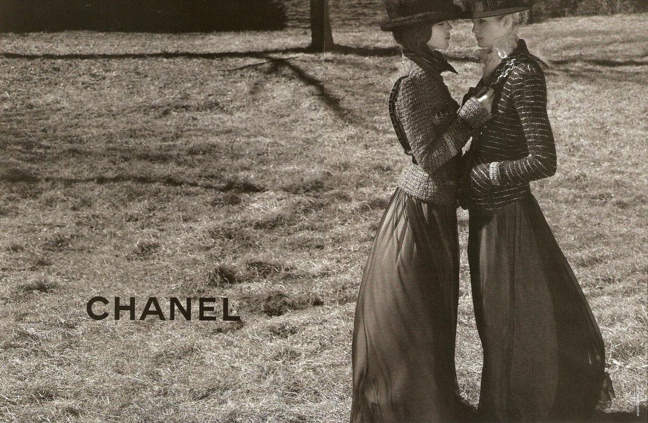 Chanelモノクロ Pc壁紙 2 壁紙フォルダー