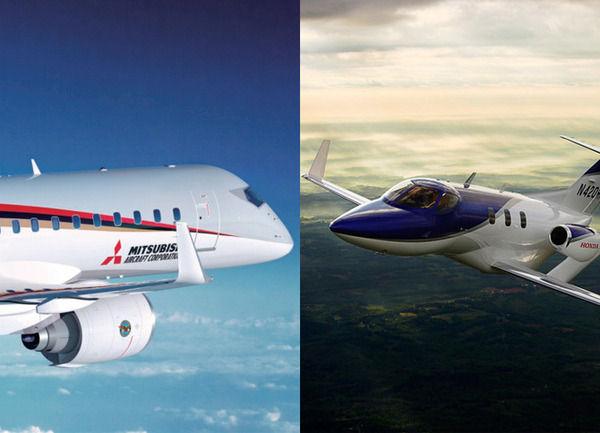 国産ジェット「ホンダジェット」と三菱重工「MRJ」の決定的な違い→