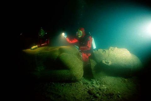 古代遺跡発見③